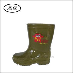 Fashion PVC Rain Shoes for Kids (BX-025) pictures & photos