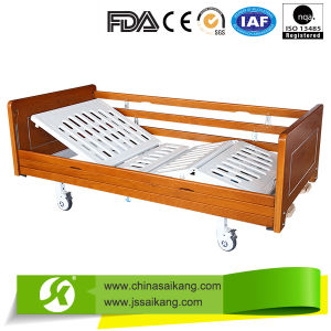 FDA Factory Luxury Medical Hospital Bed pictures & photos