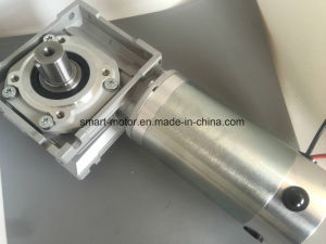 High Power Nmrv050 Worm Gearbox Brushed DC Motor, 50n. M Rated Torque for Sports Equipment pictures & photos