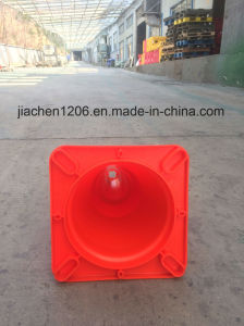 300mm Road Safety Red Soft PVC Traffic Cone pictures & photos
