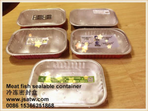 Microwavable Frozen Food Take-out Box with Lids pictures & photos