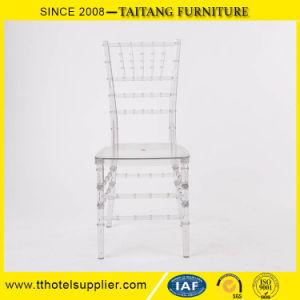 Used Stacking Durable Clear Wedding Tiffany Chair pictures & photos