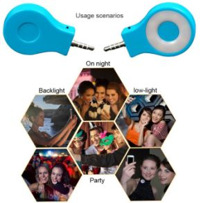 Night Using Selfie LED Enhancing Flash Light for Smart Mobile Phones Rk07 pictures & photos