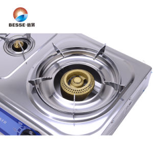 Stainless Steel Triple Burner Gas Stove, Gas Cooker pictures & photos