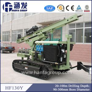 Hf130y Hydraulic Photovoltaic Solar Spiral Pile Drilling Rig, Crawler Type pictures & photos