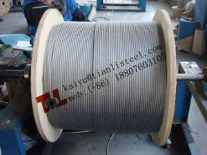 SUS304 7*19 Stainless Steel Cable pictures & photos
