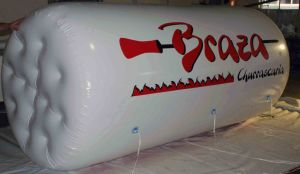 Logo Printed Inflatable Advertising Helium Cylinder Balloon pictures & photos