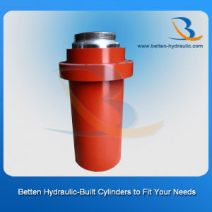 Front Flange Hydraulic Cylinder as You Drawing pictures & photos