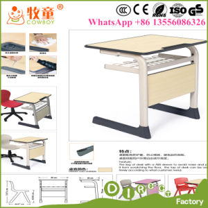 Primary School Furniture Kids Desk for Sale, Children Desk and Chairs for School pictures & photos