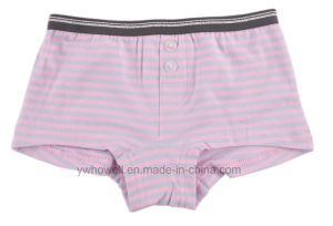 Girl′s Cotton Printed Hipster Underpants pictures & photos