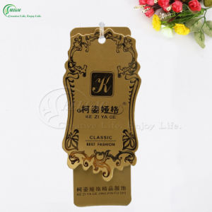 Beautiful Garment Paper Tags for Sale (KG-PA039) pictures & photos