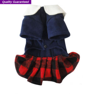 Wonderful English Styles Dog Clothes of Pet Dress pictures & photos