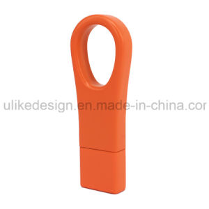 Plastic Ring Color USB Flash Disk (M006-02) pictures & photos