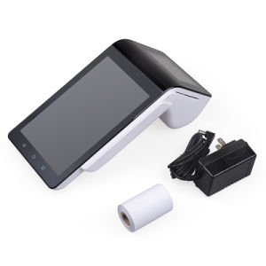 Handheld GSM/GPRS Touch Screen POS Machine with Printer Scanner for Restaurant pictures & photos