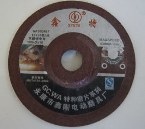 Xinte Wa Gc Grinding Wheel pictures & photos
