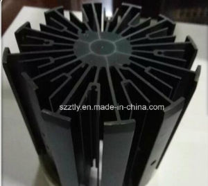 High Precision 6063 Aluminum Extruded Heat Sink / Radiator pictures & photos