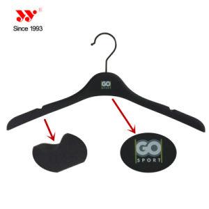 Brand 17 Inches No Slip Custom Plastic Clothing Hanger pictures & photos