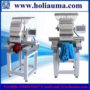Single Head Embroidery Machine Barudan Similar 1 Head Flat Embroidery Machine High Speed Chain Stitch Embroidery Machine Professional Manufacture One Head pictures & photos