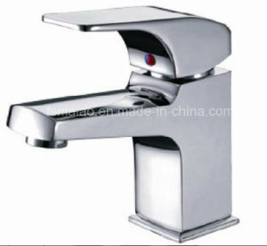 Australia Standard Sanitary Ware Watermark Ceramic Cartridge Brass Body Chrome Plated Bathroom Single Lever Faucet (HD4301) pictures & photos