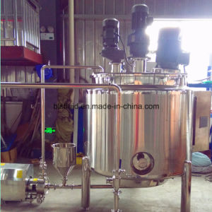 China Acrylic Emulsion Paint Mixing Plant with Three Agitators pictures & photos