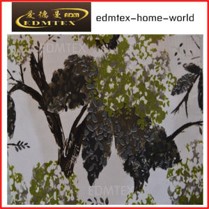 Curtain Fabric with Printed Styled-Cheap Price EDM0563