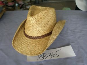 Natural Color Raffia Straw Hat pictures & photos