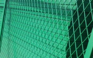 School Plastic PVC Coated Chain Link Fence pictures & photos