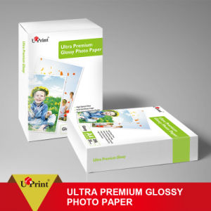 Factory Supply Digital Printing Printed High Glossy Waterproof Inkjet Photo Paper pictures & photos