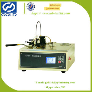 Manual Flash Point Laboratory Tester for Petroleum Products (GD-261-1) pictures & photos