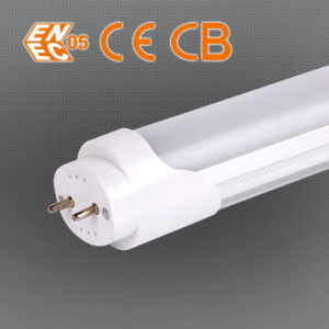 100lpw 5-8m Sensitive Milky White PIR Sensor LED T8 Tube pictures & photos