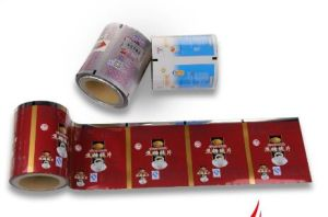 Laminated Aluminum Foil Pouch Film for Snacks Packing pictures & photos