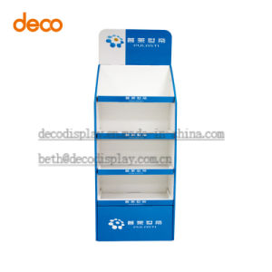 Corrugated Cardboard Counter Display Paper Floor Display Stand pictures & photos