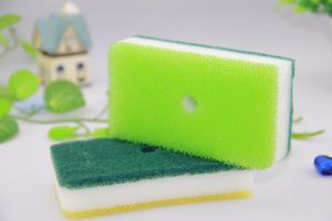 Tree Layer Sponge Scouring Pad pictures & photos