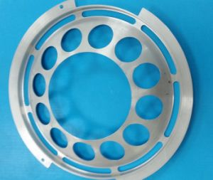 Precision CNC Milling Aluminum Motorcycle Grill Bezel Cover pictures & photos