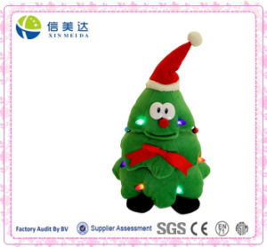 Funny Electronic Musical Christmas Tree Plush Toy pictures & photos