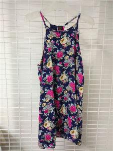 Knit Front Print T Shirt Dress pictures & photos