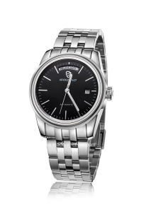 Diamond Stainless Steel Luminous Week and Date Display Men Watch pictures & photos