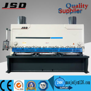 Hydraulic CNC Mild Steel Plate Shearing Machine for Aluminum Sheet pictures & photos