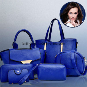Women Set 6PCS Shoulder Bag Satchel Handbag Fashion Handbag pictures & photos