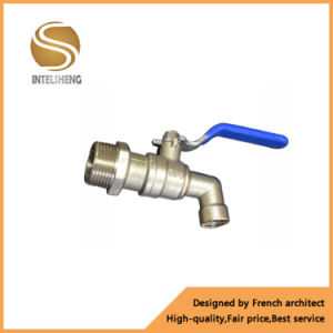 China Manufacturer Plastic Bibcock Chorme Plated Brass Valve pictures & photos