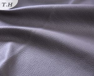High Quality Suede with Hot Stamping for Luxury Sofa pictures & photos