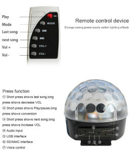 Music Mirro LED Stage Effect Magic Ball Light pictures & photos