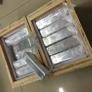 China Factory Price High Pure and Good Quality 99.995% 4n5 Indium Ingot pictures & photos