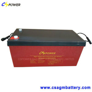 Power Storage High Temperature Solar Gel Battery 12V200ah pictures & photos