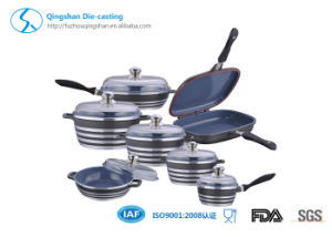 Kitchenware Aluminum Non-Stick Cookware Set pictures & photos