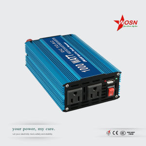 12V 24V DC to AC 110V 220V 1000W off Grid Pure Sine Solar Inverter pictures & photos