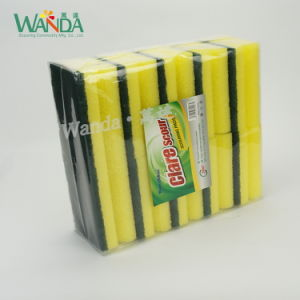 Grip Cleaning Sponge Scrubber Form Sponge for Kitchen Cleaning pictures & photos