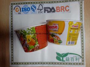 Aluminium Foil Cover for Instant Noodle Cups pictures & photos