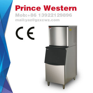 Ce Stainless Steel Watercooled Industrial Big Ice Cube Machine Factory Made pictures & photos