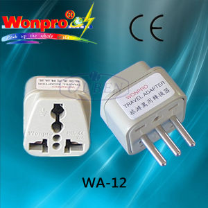 Universal Travel Adaptor (Socket, Plug) (WAII-12) pictures & photos